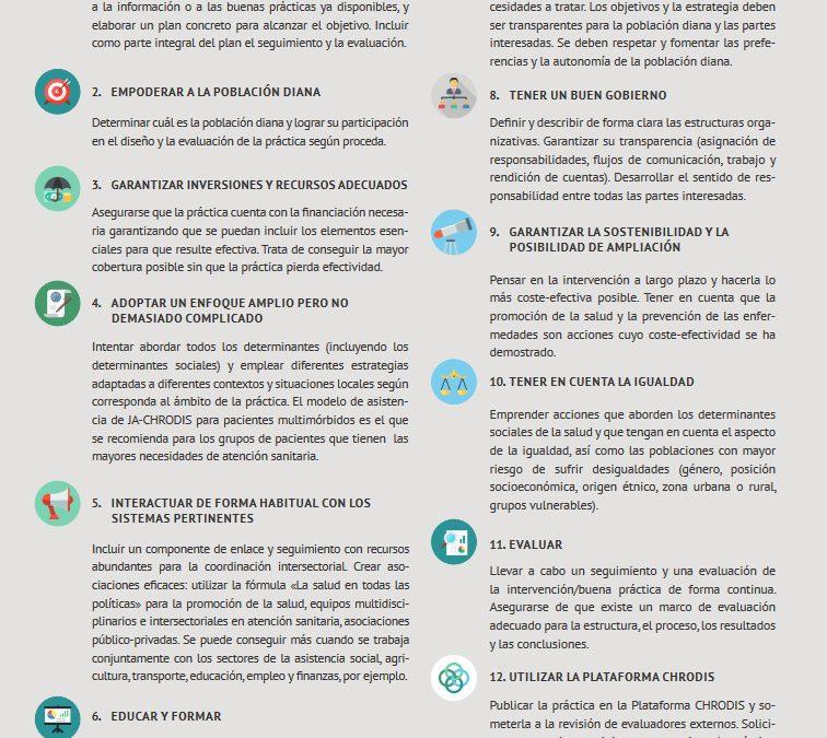 Los 12 pasos para reducir la carga de las enfermedades crónicas