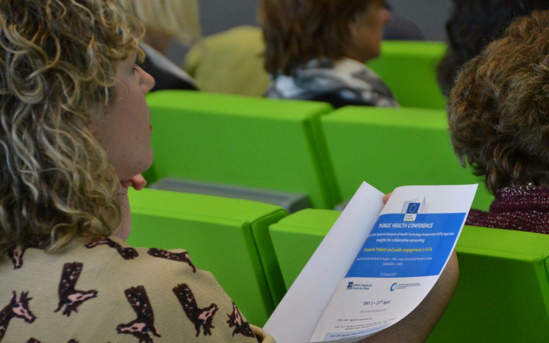 Profesionales internacionales de la Salud reclaman una mayor implicación de los pacientes para mejorar la toma de decisiones en el sistema sanitario