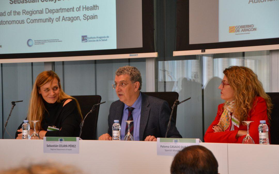 Los expertos destacan la importancia de trabajar en red a nivel nacional y europeo en evaluación de tecnologías sanitarias