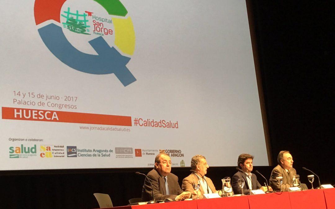 Más de 200 ideas sobre cómo mejorar la calidad sanitaria, a debate en las jornadas de trabajo de Calidad en Salud de Huesca