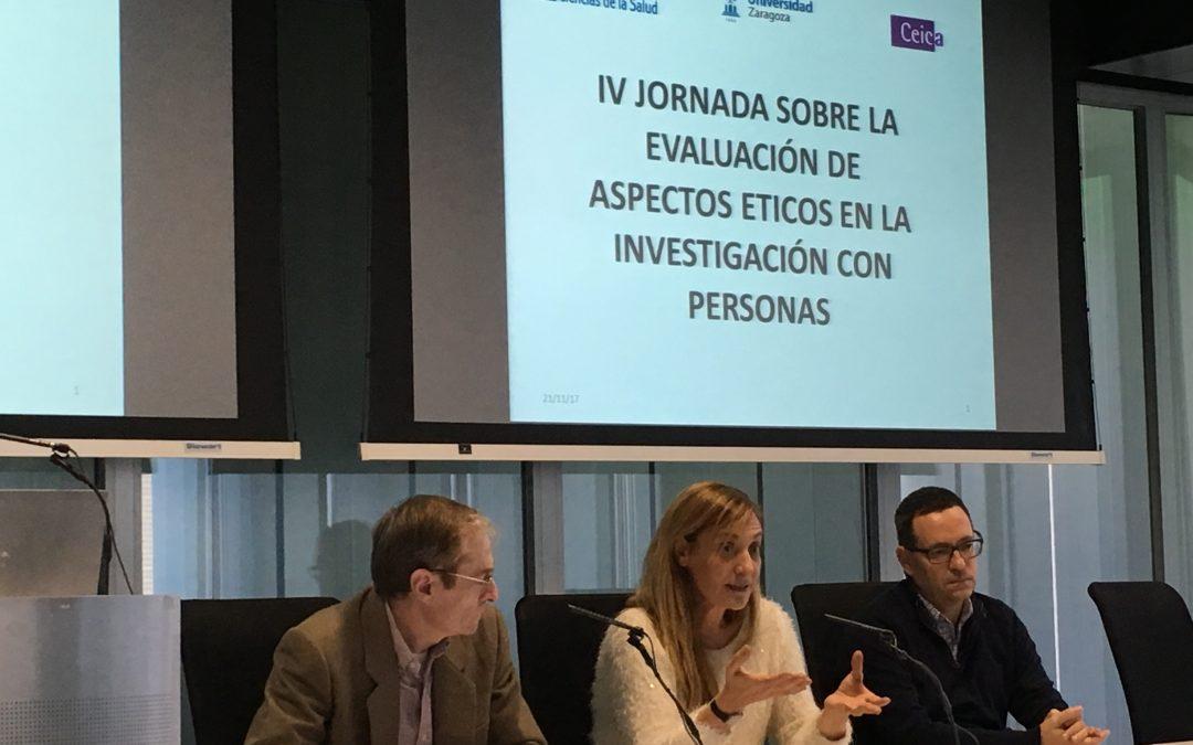 Más de 60 profesionales sanitarios asisten a la IV Jornada sobre evaluación de aspectos éticos en proyectos de investigación con personas