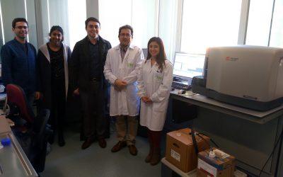 Investigadores de San Diego se interesan por las técnicas de citometría celular del IACS
