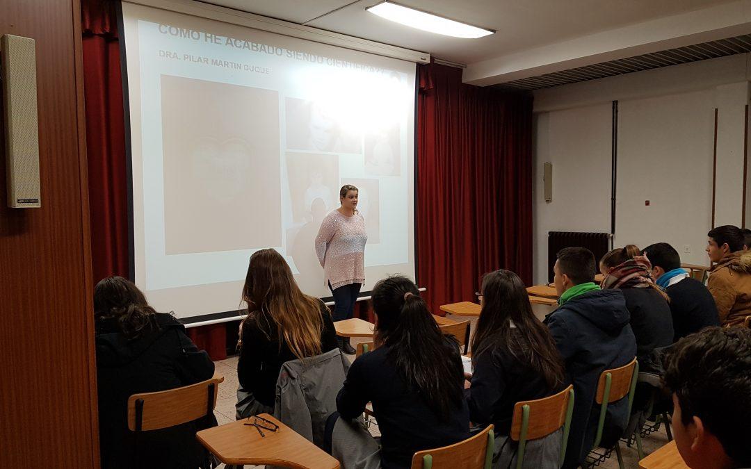 Investigadores IACS llevan la ciencia a colegios de Zaragoza