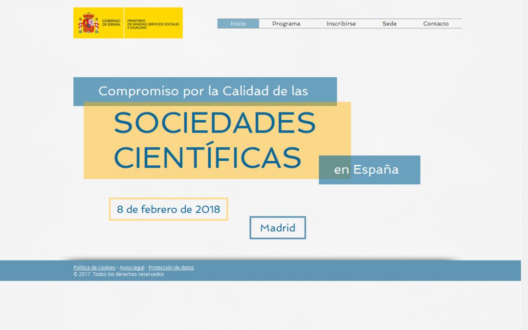 El Iacs Con El Compromiso Por La Calidad De Las Sociedades Cientificas En Espana Iacs