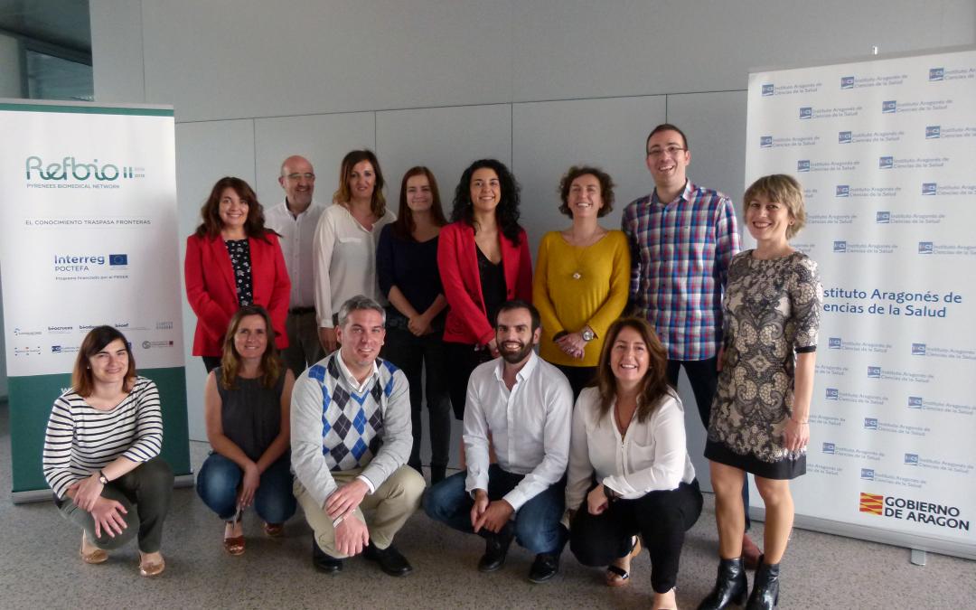 El IACS recibe a representantes de nueve instituciones de España y Francia para avanzar en proyectos de investigación transfronterizos