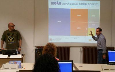 Profesionales sanitarios prueban BIGAN en las Jornadas de Calidad en Salud de Calatayud