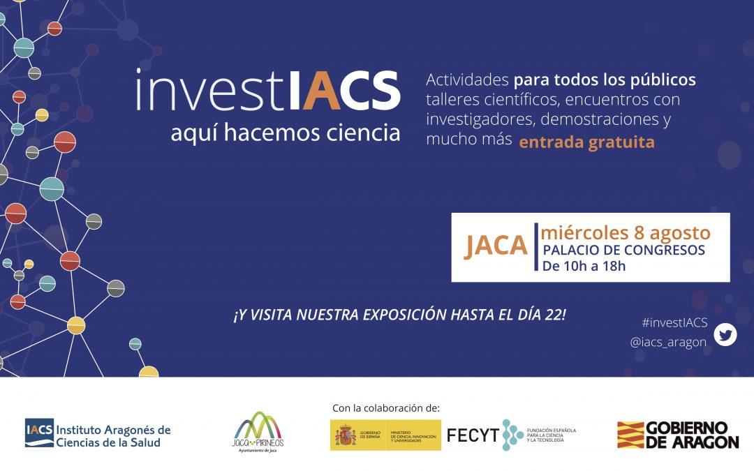 Los jacetanos experimentarán qué es ser científico este agosto junto al IACS