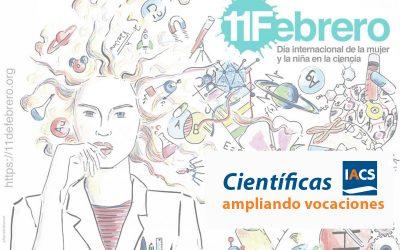 El IACS se suma un año más a la campaña 11F por el día internacional de la mujer y la niña en la ciencia
