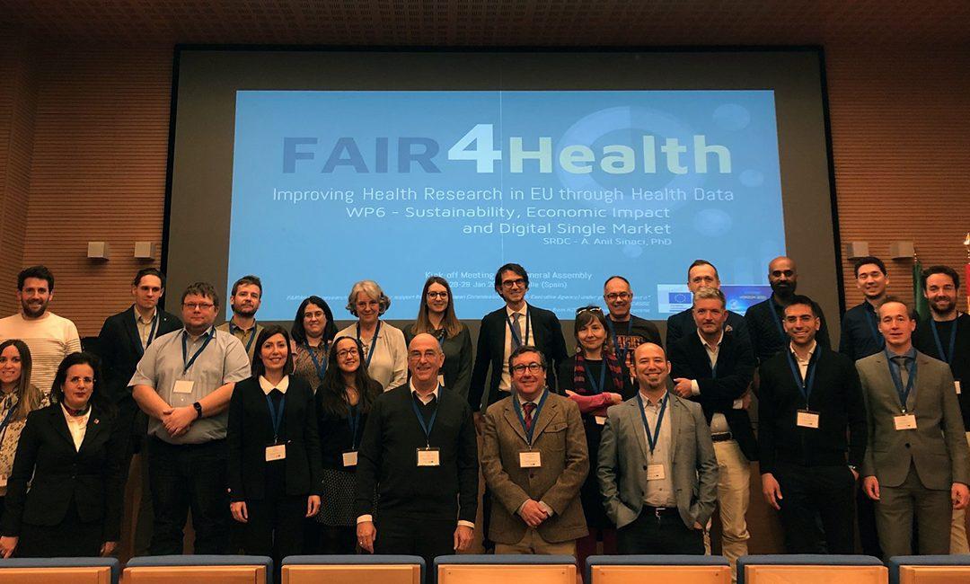 El grupo EpiChron, del IACS, empieza a trabajar en el desarrollo de una plataforma europea de datos FAIR para su uso en investigación en salud