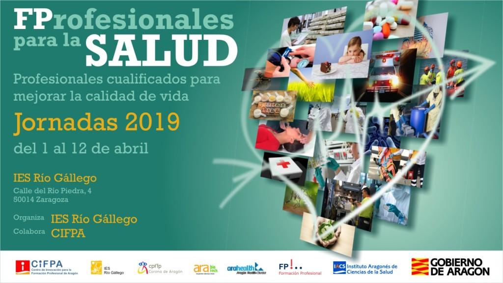 El IACS aumenta su participación en la IV edición de FProfesionales para la salud, las jornadas impulsadas por el IES Río Gállego