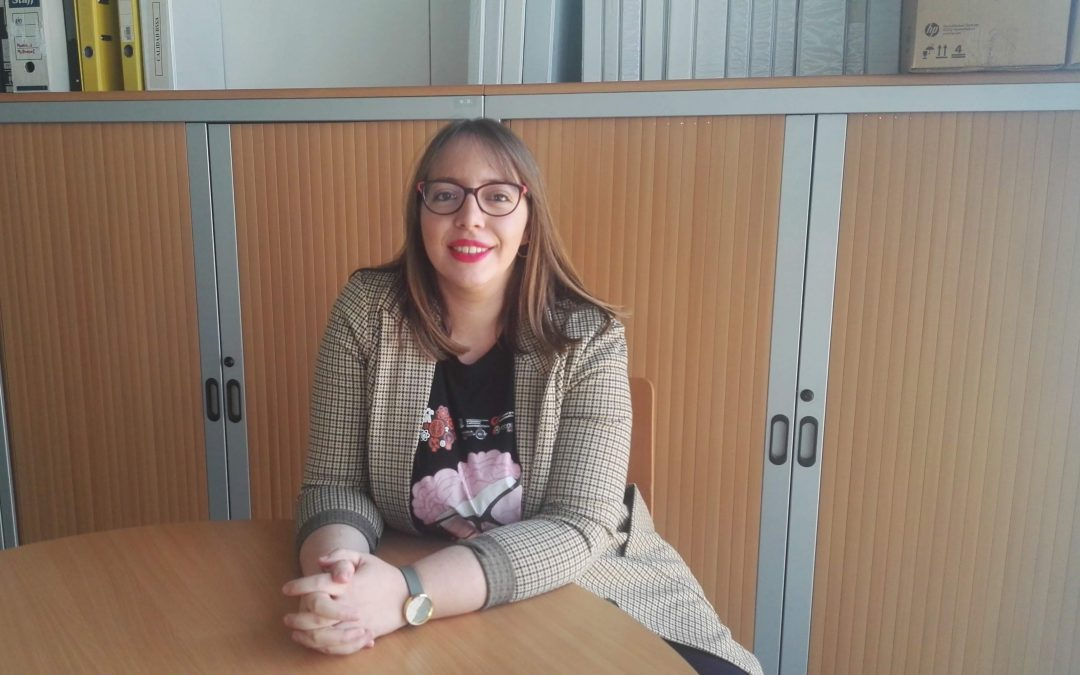 """Celia Muñoz: """"Dejarse llevar e improvisar: esa es la filosofía del swing"""""""