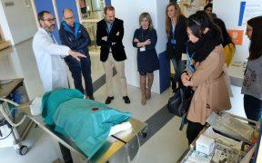 El Instituto Aragonés de Ciencias de la Salud promueve la ciencia inclusiva con la reproducción de cinco de sus laboratorios en Etopia