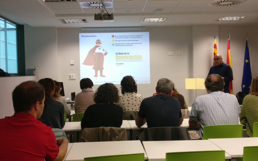 061 Aragón apuesta por formarse en innovación de la mano del IACS