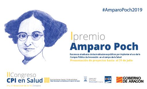 La Cátedra IACS lanza el premio Amparo Poch para reconocer iniciativas que fomenten la compra pública de innovación en Salud