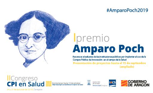 Plazo ampliado para presentar iniciativas al premio Amparo Poch