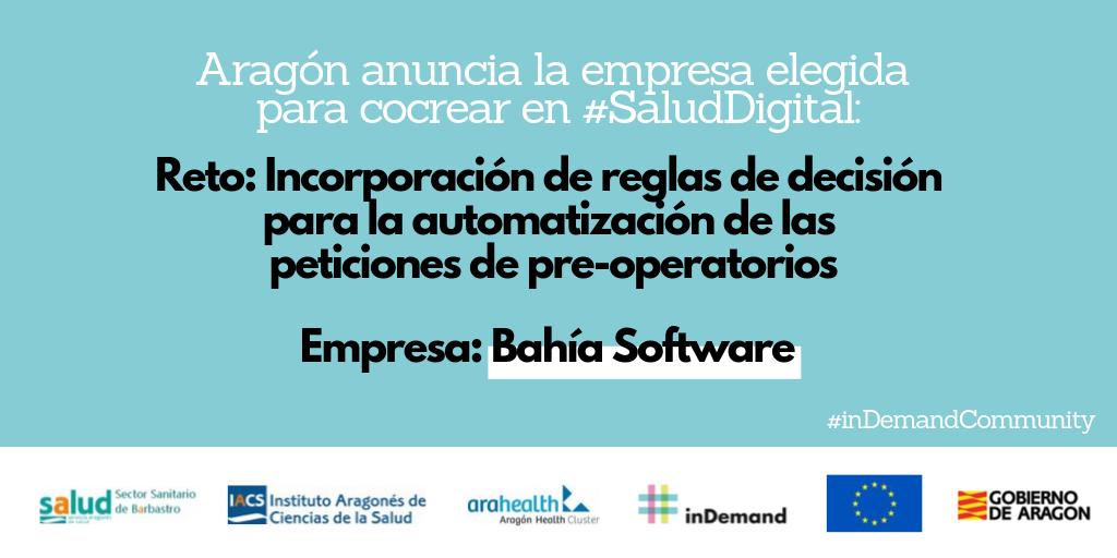 Aragón anuncia la empresa elegida para cocrear en la automatización de las peticiones de pre-operatorios