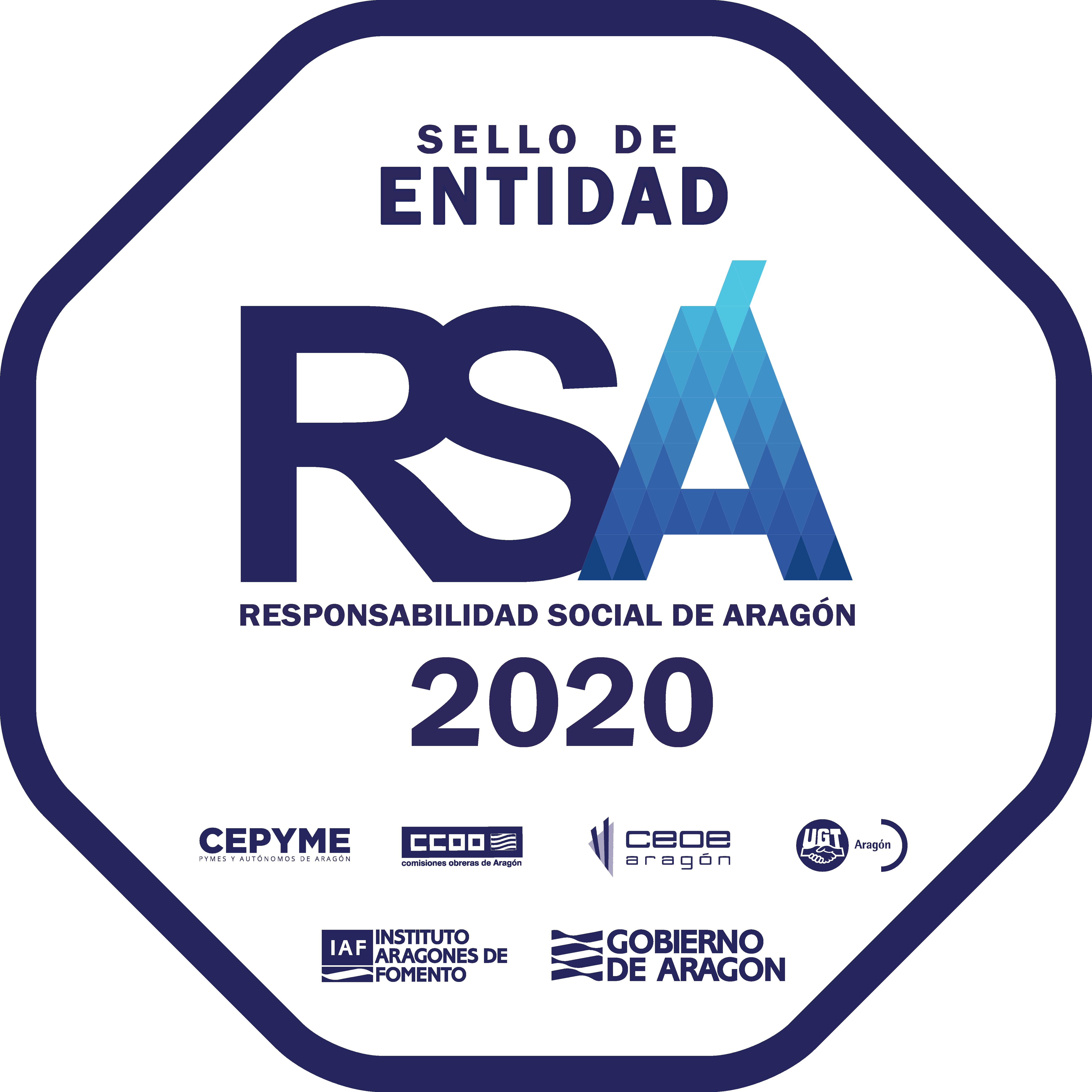 Sello de Responsabilidad Social de Aragón (RSA)