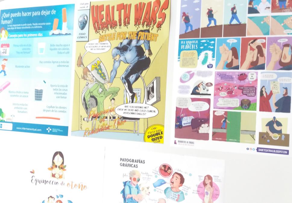 Ilustradores, profesionales sanitarios y pacientes reflexionan en Zaragoza sobre la aportación de los cómics y las novelas gráficas a la Medicina