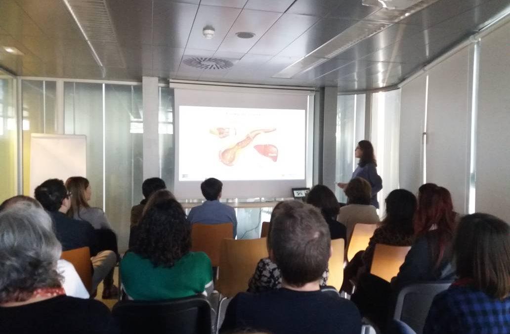 XIII Desayuno con la Ciencia con Ana Cenarro: «El colesterol también se hereda»