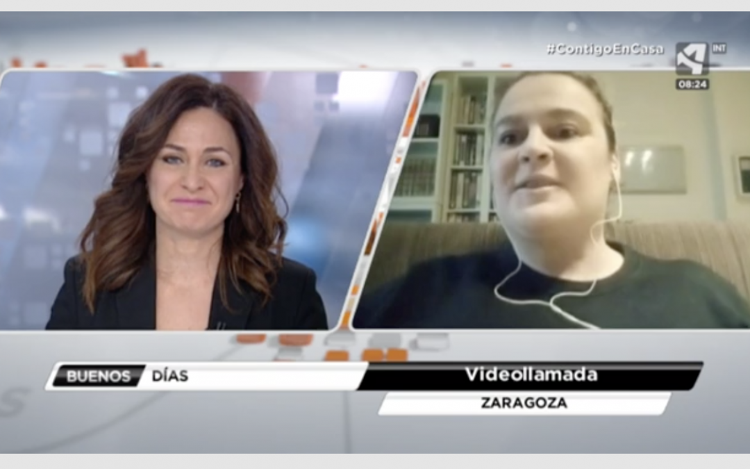 La investigadora Pilar Martín Duque habla sobre el Covid-19 en Aragón TV