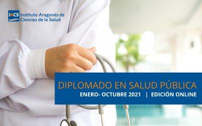 Arranca la primera versión online del Diplomado en Salud Pública del IACS con 60 alumnos y con contenidos especializados en la gestión de pandemias