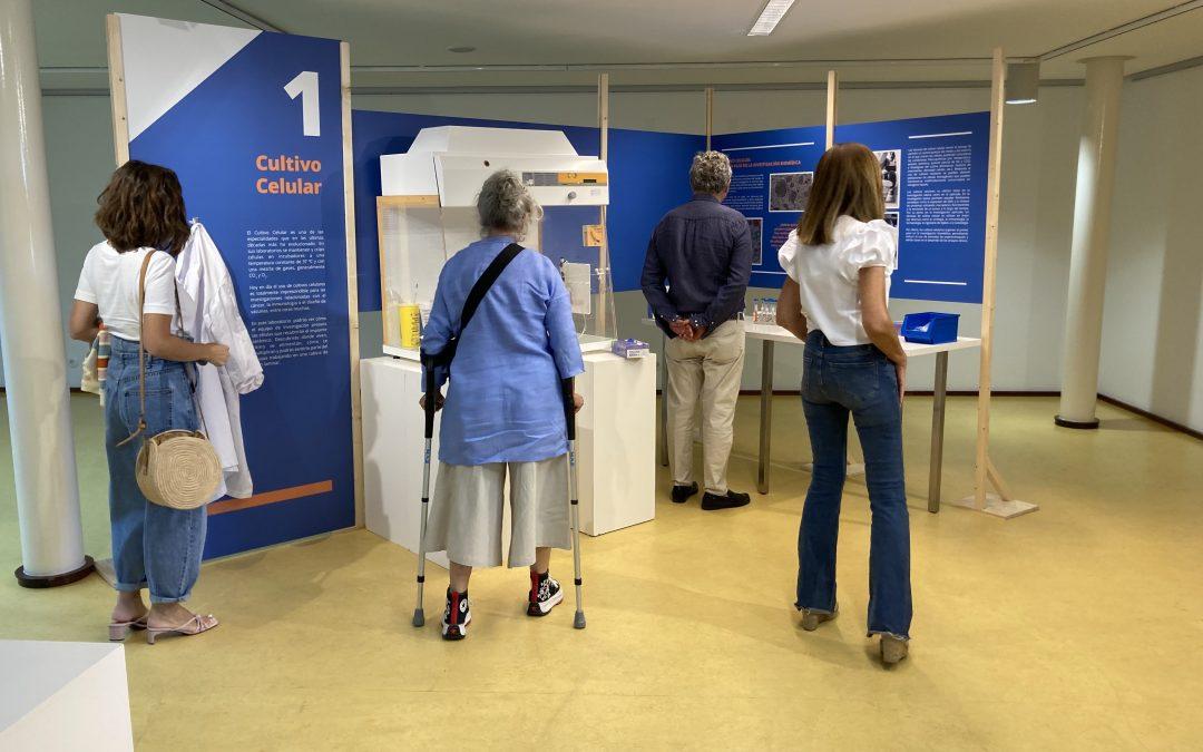 La exposición Ciencia  con Sentido encara su última semana en  Utebo  tras más de  15 pases guiados  y  rozando las 400 visitas